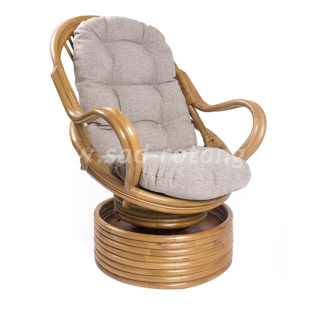 Кресло-качалка Davao (мёд) (Индонезия), размер Высот - 110 см. <br/> Глубина - 90 см. <br/> Ширина - 80 см.