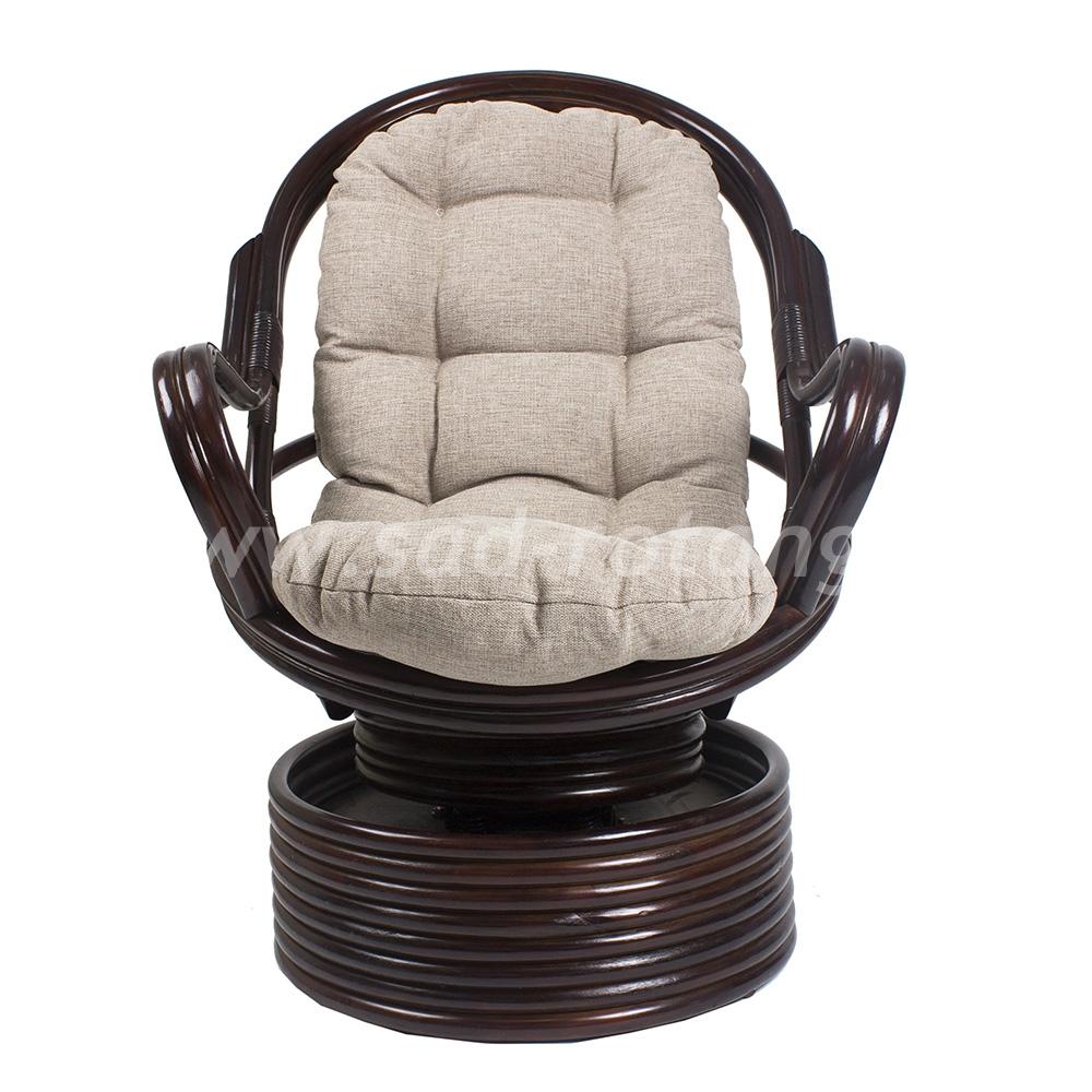 Кресло-качалка Davao (венге) (Индонезия), размер Высота - 110 см. <br/> Глубина - 90 см. <br/> Ширина - 80 см.