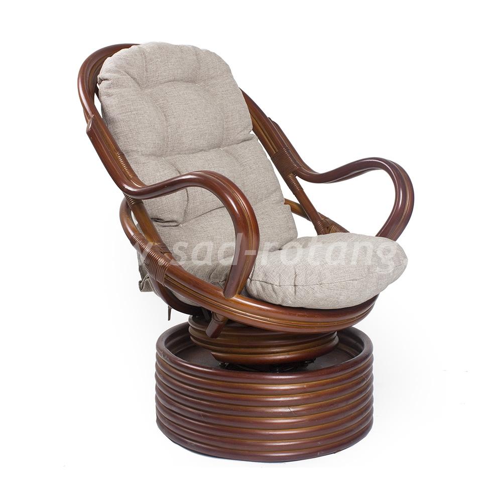 Кресло-качалка Davao (коньяк) (Индонезия), размер Высота - 110 см. <br/> Глубина - 90 см. <br/> Ширина - 80 см.