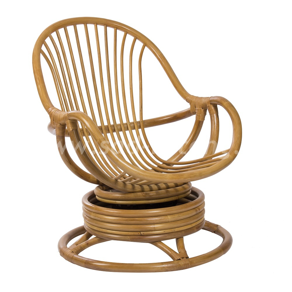 Кресло-качалка Kara (мёд) (Индонезия), размер Высота - 90 см. <br/> Глубина - 90 см. <br/> Ширина - 67 см.