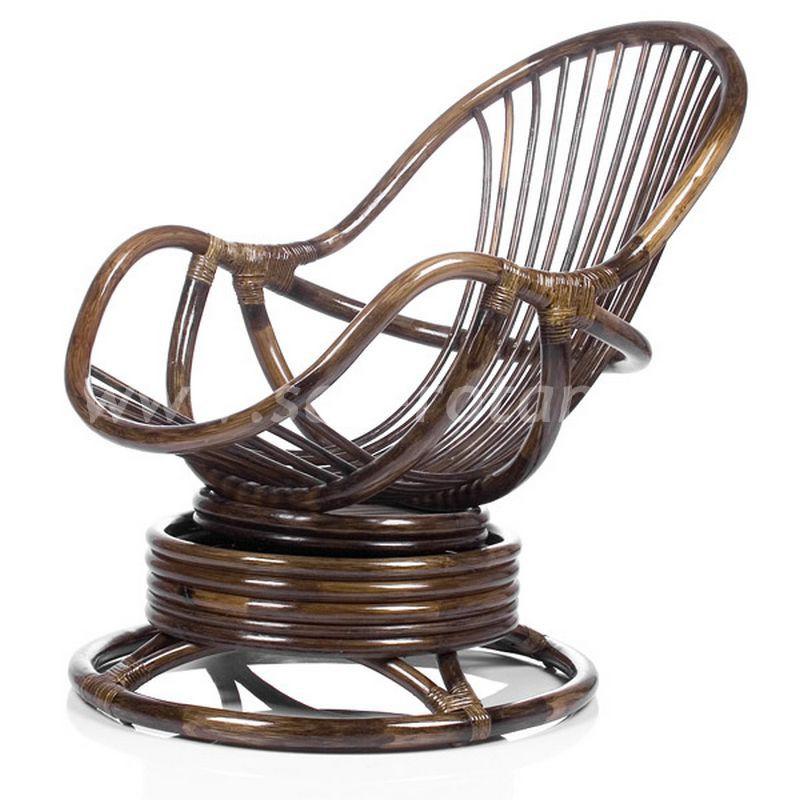 Кресло-качалка Kara (браун) (Индонезия), размер Высота - 90 см. <br/> Глубина - 90 см. <br/> Ширина - 67 см.