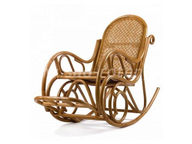 Кресло-качалка Moscow (мёд) (Индонезия), размер Высота - 44 см. <br/> Глубина - 54 см. <br/> Ширина - 52 см.