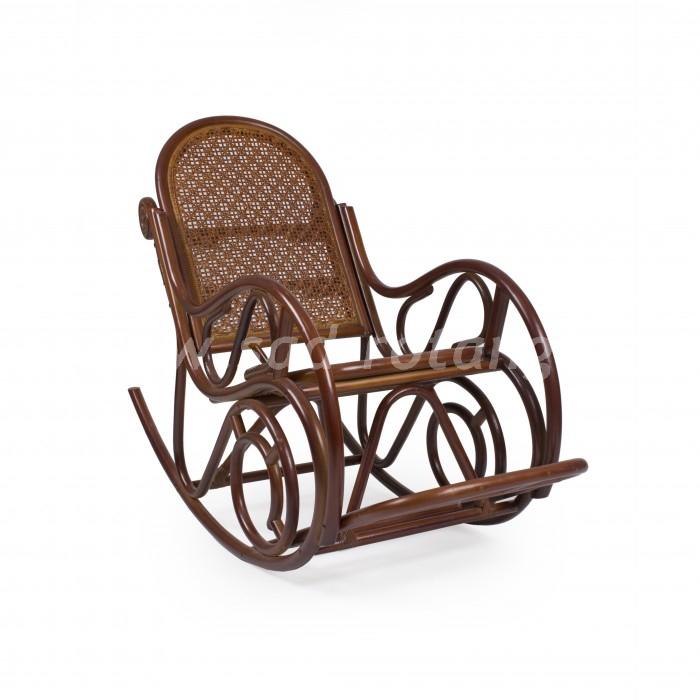 Кресло-качалка Moscow (коньяк) (Индонезия), размер Высота - 44 см. <br/> Глубина - 54 см. <br/> Ширина - 52 см.