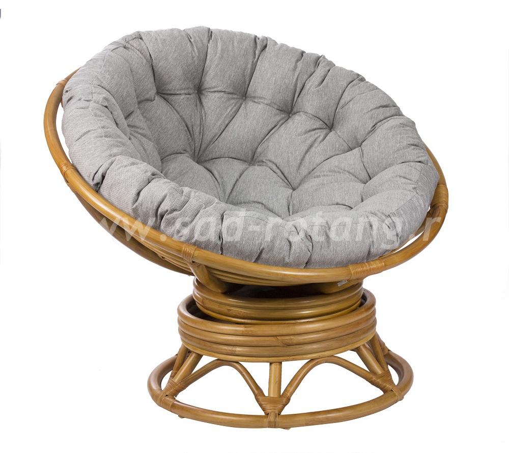 Кресло-качалка Pretoria (мёд) (Индонезия), размер Высота - 115 см. <br/> Глубина - 115 см. <br/> Высота - 90 см.