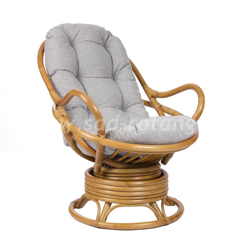 Кресло-качалка Swivel Rocker (мёд) (Индонезия), размер Высота - 100 см. <br/> Глубина - 87 см. <br/> Ширина - 76 см.