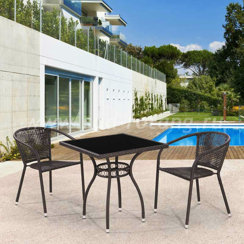 Комплект мебели Milton-2 (браун)цвет Темно-коричневый