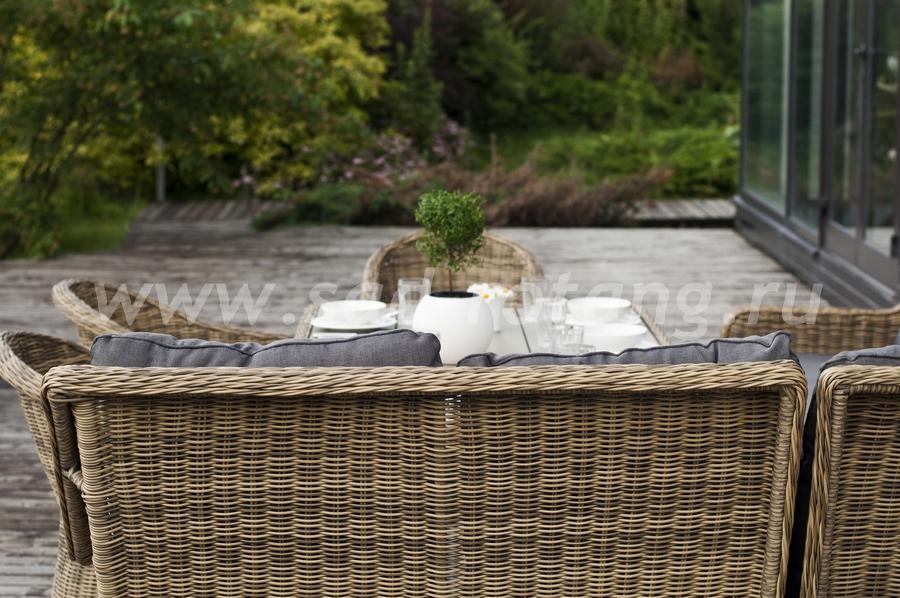 Плетеный диван Бергамо