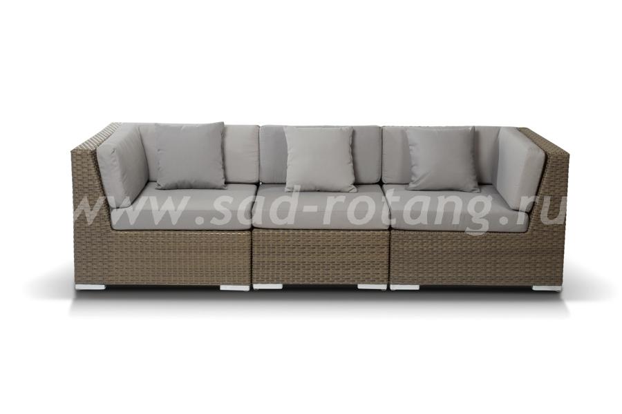 Плетеный диван из ротанга Беллуно