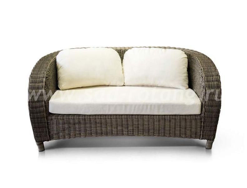 Плетеный диван из ротанга Римини