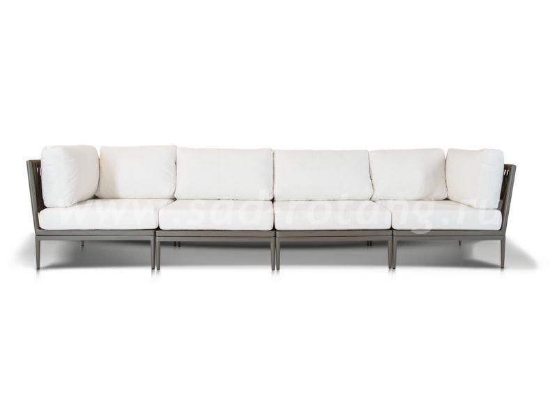 Плетеный диван Касабланка