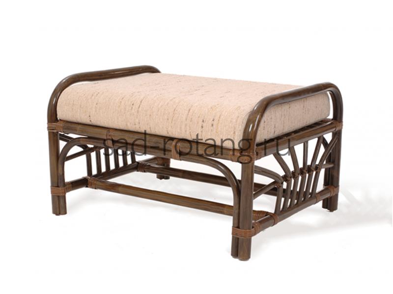 "Банкетка с мягким сиденьем ""Darner"" (Индонезия), размер 550х450х450"