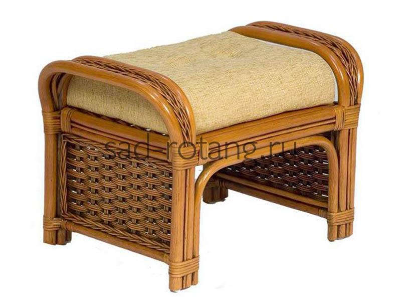 """Банкетка из ротанга """"Case"""" (Индонезия), размер 660х420х420"""