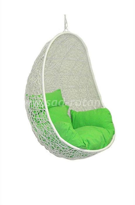 Кресло подвесное Easy BS (белое) (Индонезия), размер Ширина - 80 см, глубина - 66 см, высота - 195 см