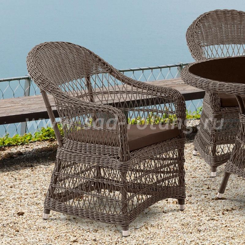 Обеденный петеный комплект мебели Afina (Индонезия)