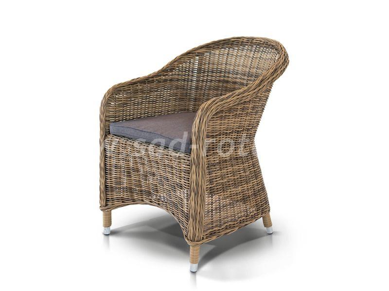 Кресло Равенна С (серо-жёлтый)