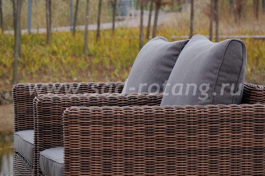 Кресло Макиато (темно-коричневый)