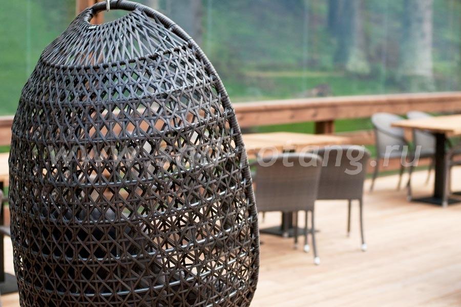 Подвесное кресло из ротанга Тенерифе