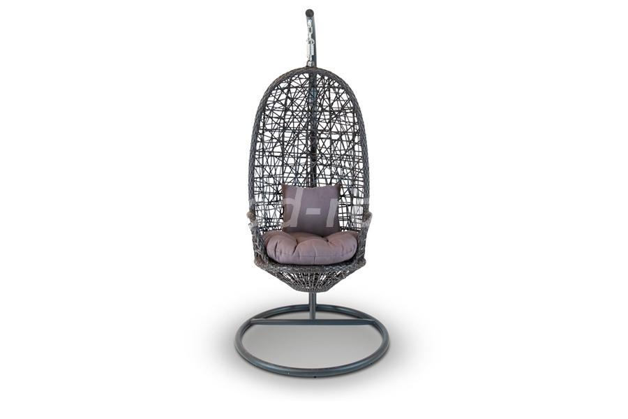 Подвесное кресло из ротанга Венецияразмер 96х96х197 см