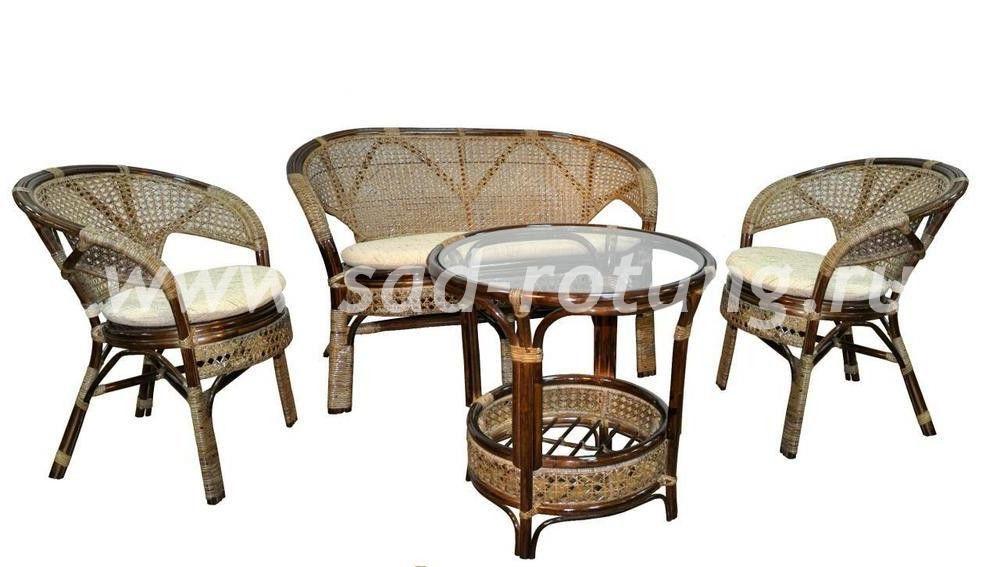 "Комплект плетеной мебели ""Пеланги"" (Браун)"