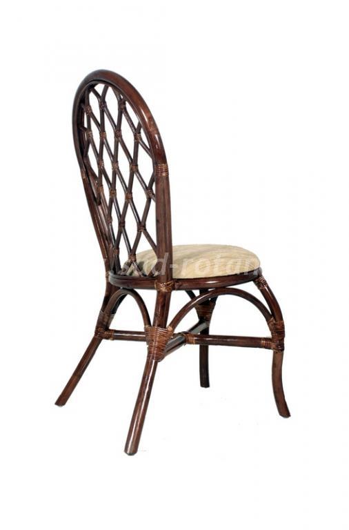 Обеденный стул 04/12 плетеный (Индонезия), размер Высота - 97 см<br/>Ширина - 48 см<br/> Глубина - 55 см