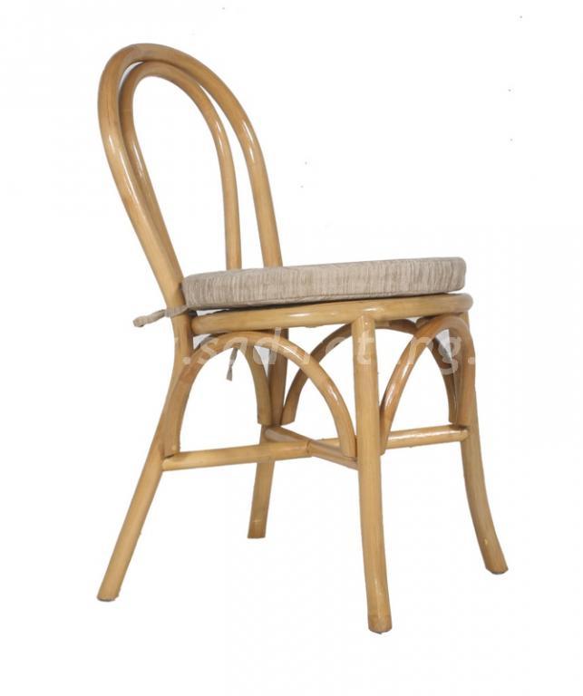 Венский стул с подушкой Vera (Индонезия), размер Высота - 84 см<br/>Ширина - 40 см<br/> Глубина - 57 см