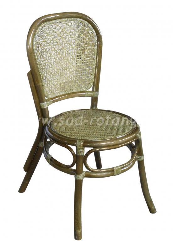 Обеденный стул 04/18 (Индонезия), размер Высота - 88 см<br/>Ширина - 40 см<br/> Глубина - 51 см