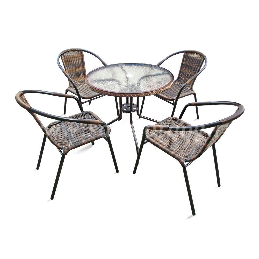 Набор мебели Nicole-1Вразмер Стул: высота - 74 см, ширина - 57 см, длина - 54 см </br> Стол: 80х70