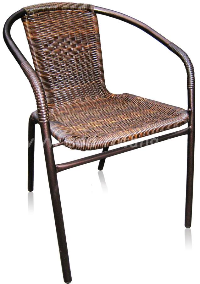 Комплект мебели Nicole-2Аразмер Стул: высота - 74 см, ширина - 54 см, длина - 54 см <br/> Стол: 80х80х70