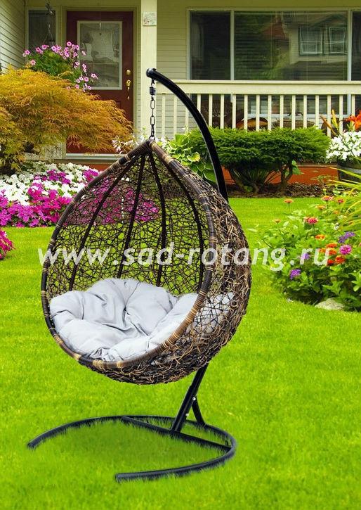 Подвесное кресло из искусственного ротанга Tropica