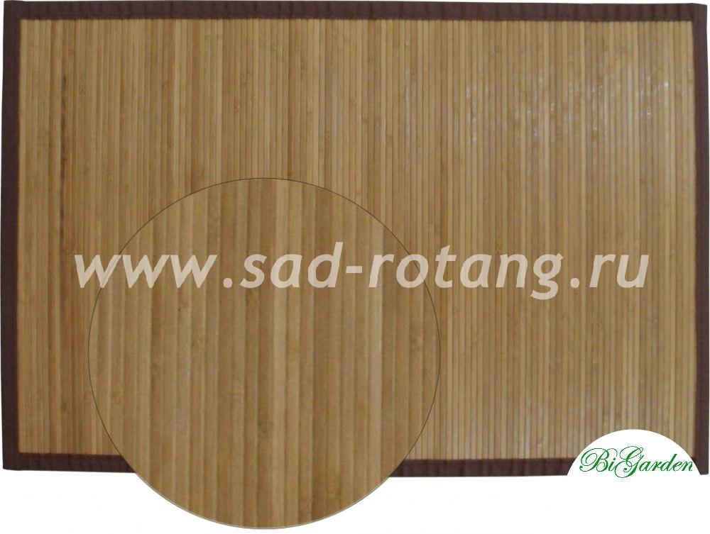 Циновка из бамбука 60х90 (Тонированная)