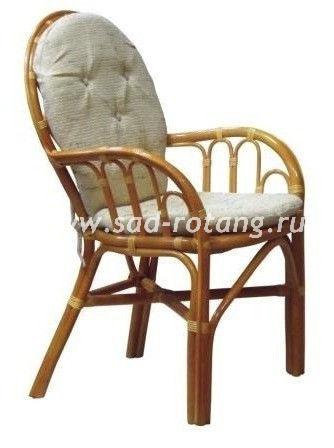 """Плетеный стул """"Cozy"""" (Коньяк)"""