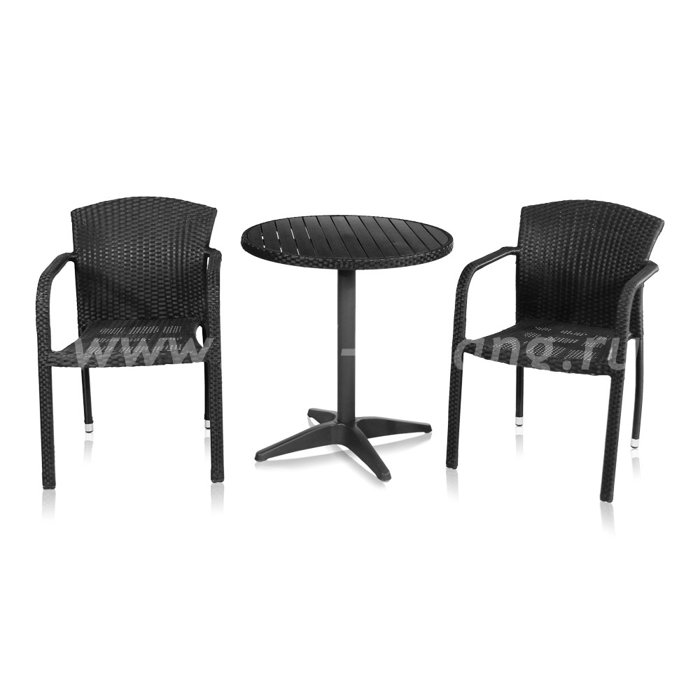 Комплект мебели Milano-2 (черный)цвет Черный