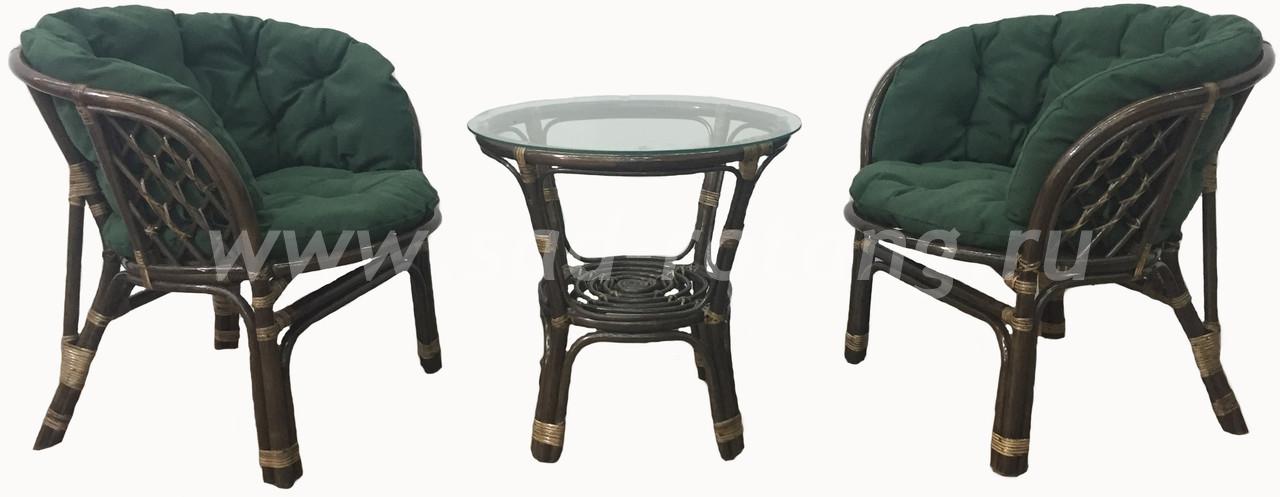 """Комплект мебели """"Богемия"""" Дабл (Браун)"""