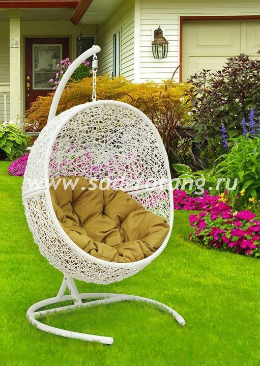Кресло подвесное Lunar White (Без стойки)