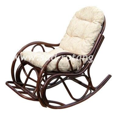 Кресло-качалка с подножкой  05/17 (Браун)