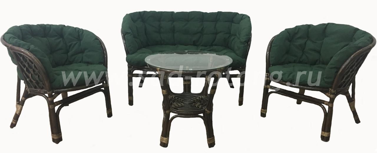 "Плетеная мебель для отдыха ""Богемия"" (Браун)"