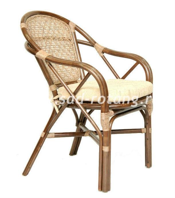"""Плетеный стул """"Ellena"""" (Браун)"""